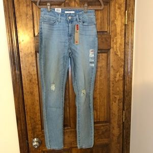 Levi's 711 High Rise Skinny Jeans